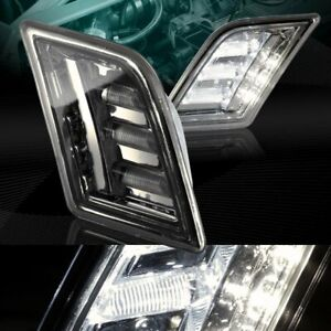 Smoke Turn Signal Led Side Marker Lights Fit 08 11 Mercedes Benz W204 C Class