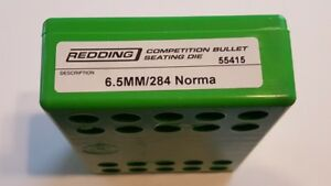 55415 REDDING COMPETITION SEATING DIE 6.5MM 284 NORMA NEW FREE SHIP $144.99