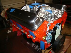 Chevy 350 350hp Motor With Iron Cylinder Heads Over 60 This Model Sold