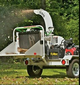 Altec Dc610 6 Towable Wood Brush Chipper Honda Engine With Key Start Used