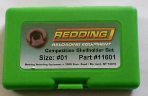 11601 REDDING COMPETITION SHELLHOLDER SET 308 WINCHESTER NEW FREE SHIP $74.99