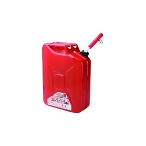 Midwest Can Company 5800 5 Gallon Metal Auto Shutoff Jerry Can