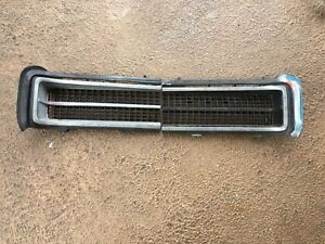 1969 Pontiac Gto Pair Of Original Gm Headlight Grills Grilles Oe Oem
