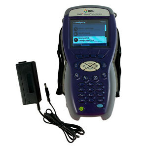 Jdsu Dsam 3300 Xt Cable Tester Signal Meter Docsis 3 0 With Charger