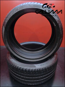 2 Tires Pirelli Pzero 245 35zr20 2453520 91y Summer No Patch 52899