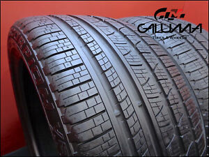 2 Likenew Takeoff Tires Pirelli Scorpion 315 35r21 3153521 Nopatch 53070