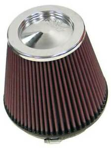 K n Round Tapered Universal Air Filter 6in Flange Id X 7 5in Base Od X 5in Top O