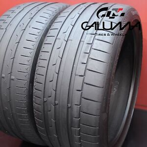 2 Tires Continental Sportcontact6 Summer 245 35r19 245 35 19 2453519 93y 54244