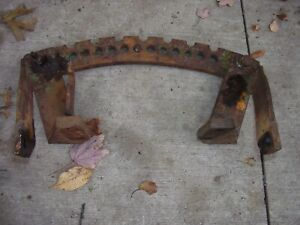 Vintage Minneapolis Moline R Tractor swing Drawbar Support Rear