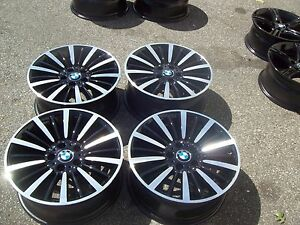 Factory Bmw 320i 328i 335i 428i 435i Wheels Rims 12 13 14 2015 2016 Black 71544