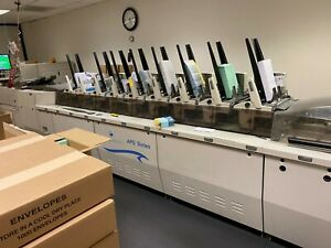 Pitney Bowes Bluecrest Aps 2007 With 2 up Continuous Form Cutter