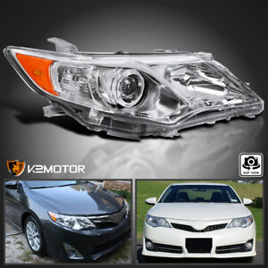 For 2012 2014 Toyota Camry L le xle Projector Headlight Right Passenger Side