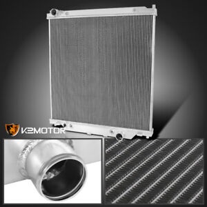 For 2003 2007 Ford F250 F350 F450 Excursion 6 0l Diesel 3 row Aluminum Radiator