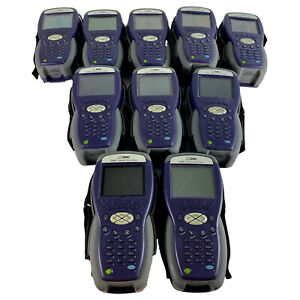 Lot Of 10 Jdsu Dsam 3600 Digital Cable Tester Signal Meter With Charger