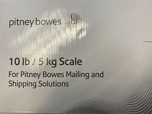 Pitney Bowes 10lb Integrated Usb Scale 397 B New