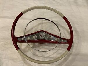 1958 Impala Steering Wheel Coupe Convertible Horn Ring Button Cap