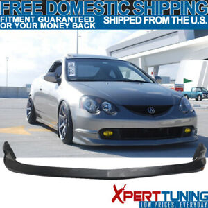 Fits 02 03 04 Acura Rsx Dc5 As Front Bumper Lip Pu