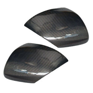 Left Right Side Wing Door Rearview Mirror Cover Cap Fit For Mazda 3 Speed3 10 13