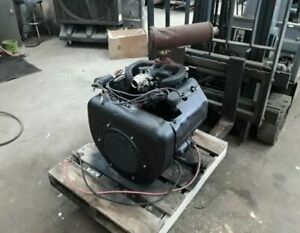 Wisconsin Vh4d 35hp Gas Engine Has Under 300 Original Hours
