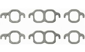 Exhaust Manifold Gasket Set For 60 95 Sbc Chevy 267 305 350 400 V8 Ms9275b Rol