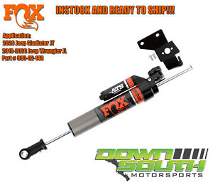 Fox Shock Ats 2 0 Steering Stabilizer For 2018 2020 Jeep Wrangler Jl Gladiator