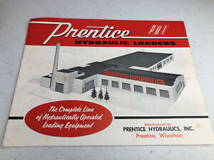 1960 s Prentice Hydraulic Loaders Brochure Pamphlet