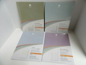 4 Packs Levenger Circa Smart Planner Refill Pages Travel Tamer Ideation Doodler