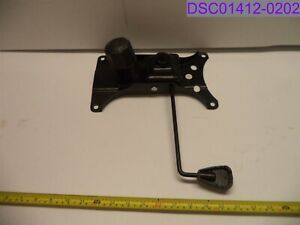 Office Chair Bottom Seat Plate Replacement 10 X 6 Mounting Holes Centered