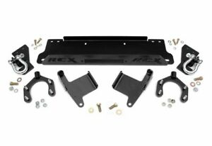 Rough Country Factory Bumper Winch Mounting Plate W D Rings For Jeep Jk 1173