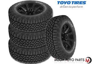 4 Toyo Open Country A T Iii Owl P245 70r16 106s All Terrain 65k Mi Cuv Suv Tires