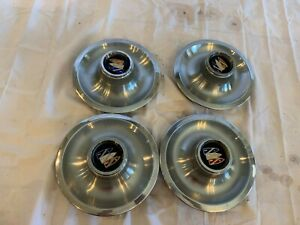 Gran Sport Center Caps 1967 Rally Wheels Buick Skylark Gs Coupe Convertible Rare