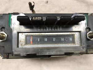 Eight 8 Track Am Harness Plug 1970 Chevelle Monte Carlo El Camino Dash Radio