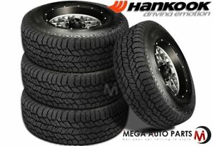 4 Hankook Dynapro At2 Rf11 275 55r20 113t All Terrain 3pmsf Truck Suv Tires