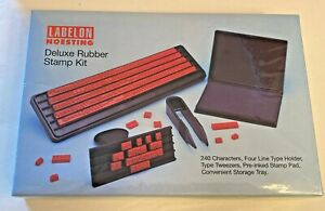 Labelon Noesting Deluxe Rubber Stamp Kit Md 12