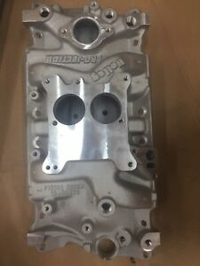 Holley 300 66 Pro Jection Tbi Dual Plane Intake Manifold For Small Block Chevy