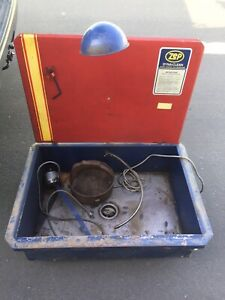 Vintage Zep Dyna clean Parts Washer Degreaser Sink Station 36 X 26 X 11