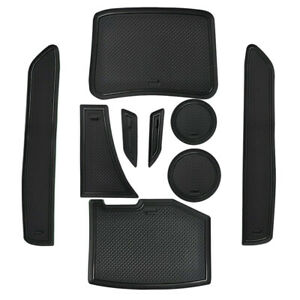 Custom Cup Holder Inserts Console Liner Accessories For Chevy Camaro 2016 2021