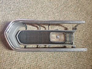 1968 68 Plymouth Barracuda Grille Left Hand Factory Original Oem