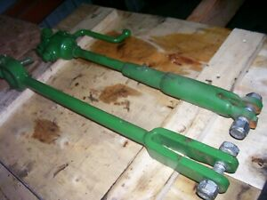Vintage Oliver 55 Gas Tractor 3 Point Lift Links Nice Parts 1954