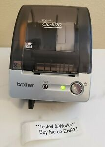 Brother Ql 500 P touch Thermal Label Printer W Usb Cable And Cd rom