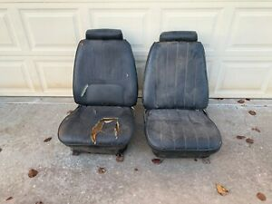 1970 Chevy Camaro Z28 Trans Am Bucket Seats Firebird Rs Ss Headrests Tracks