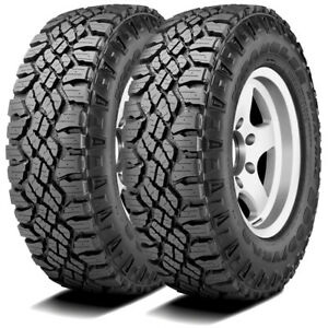 2 New Goodyear Wrangler Duratrac 255 70r16 111s A T All Terrain Tires