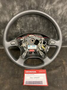 94 95 96 97 Acura Integra Oem Used Black Steering Wheel Cruise Covers