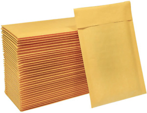 Pack Of 50 Kraft Bubble Wrap Mailers Padded Mailing Envelope Bags 4x8 Inches New