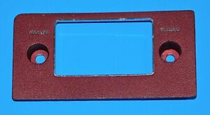1974 1975 1976 Ford Thunderbird Oem Radio Faceplate Dash Bezel Trim