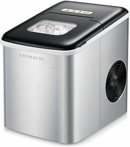 Crownful Ice Maker Machine For Countertop 9 Cubes Ready In 8 10
