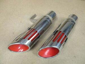 71 74 Dodge Charger Exhaust Tips Light Damage