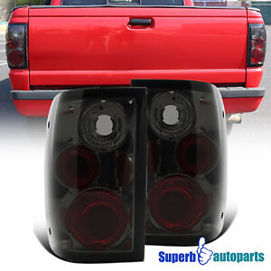 For 2001 2005 Ford Ranger Smoke Tail Lights W Turn Signal Reverse Brake Lamps