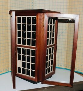 Rembrandt Charms Tower Wood Display Case With Charm Pads