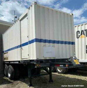 Used York Caterpillar Model Py 525a Containerized Packaged Mobile Chiller Co